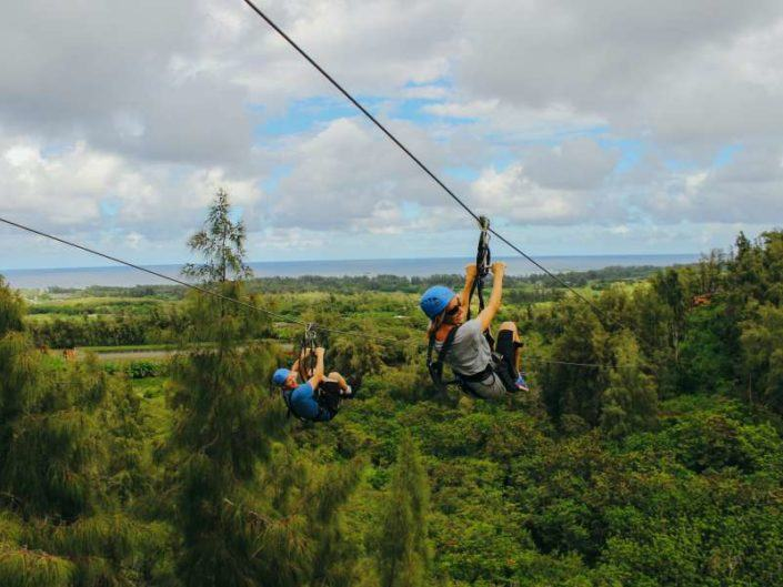 ZIPLINE ACROSS THE ISLAND
