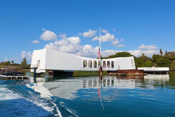 USS Arizona Memorial Morning