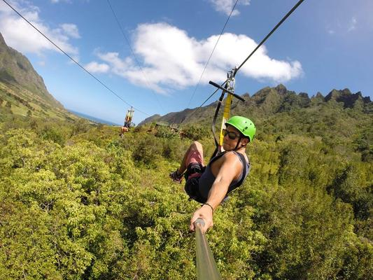 Jurassic Valley Zipline Adventure