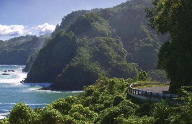 Road to Hana Maui Hawaii coastline
