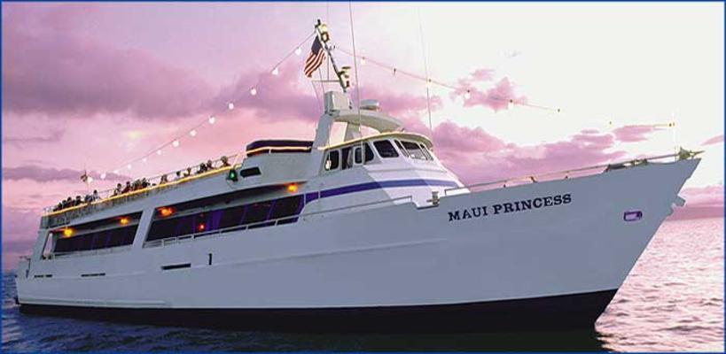 Maui Princess boat