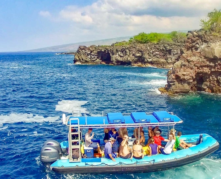 Sea Quest Boat Big Island Kona Coast Visitors