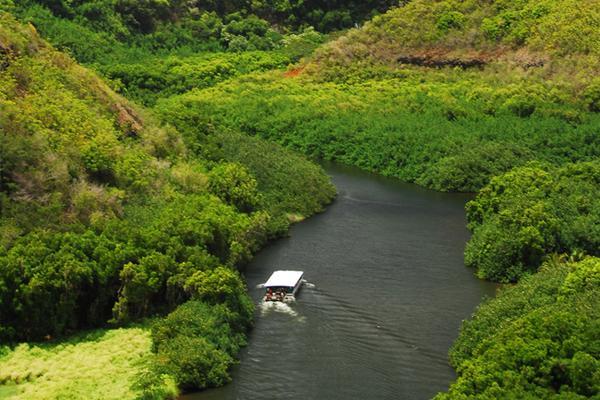 WAIMEA CANYON WAILUA RIVER