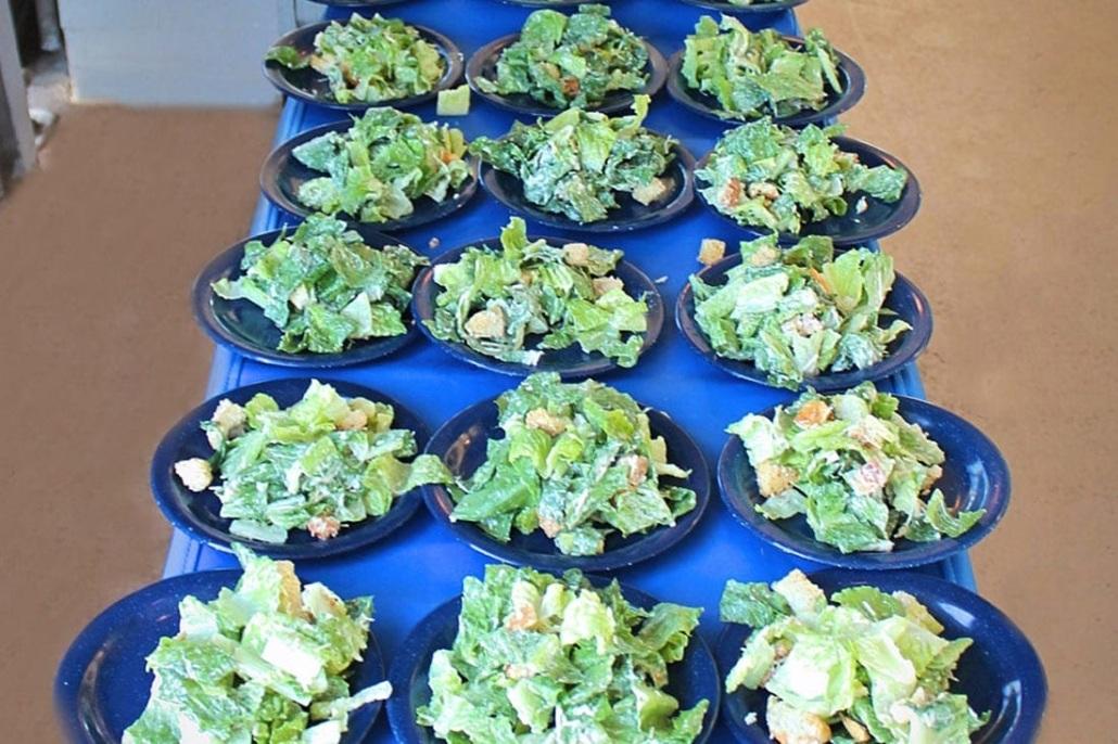 Calypso Dinner Cruise Ceasar Salad