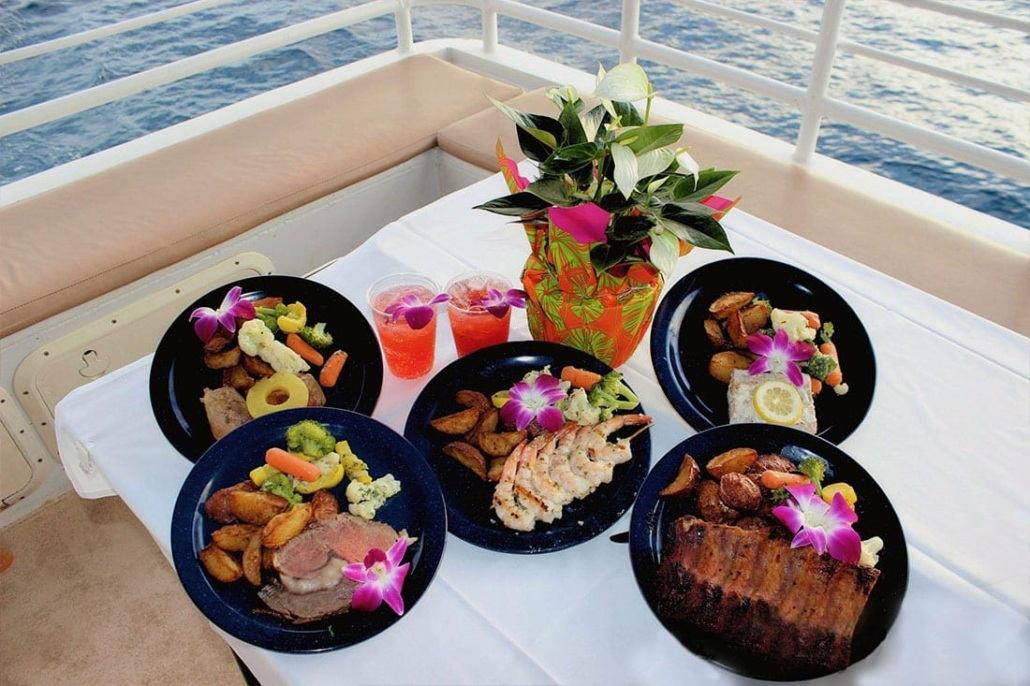 Calypso Dinner Cruise Menu Options