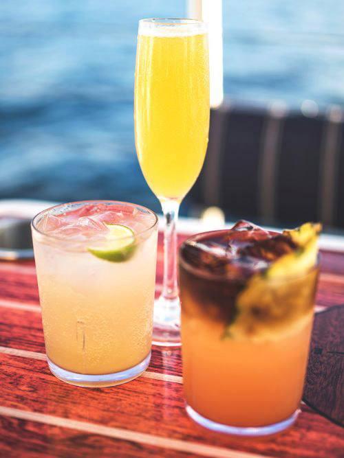premium signature cocktails deluxe kaanapali sunset sail