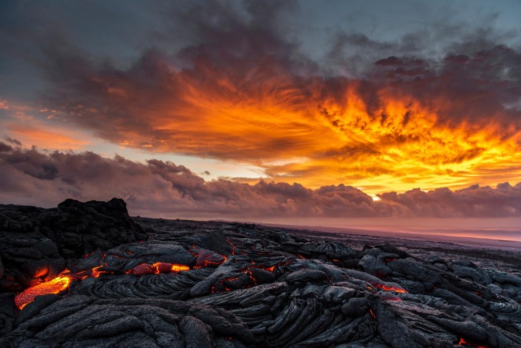 Mount Kilauea on Big Island
