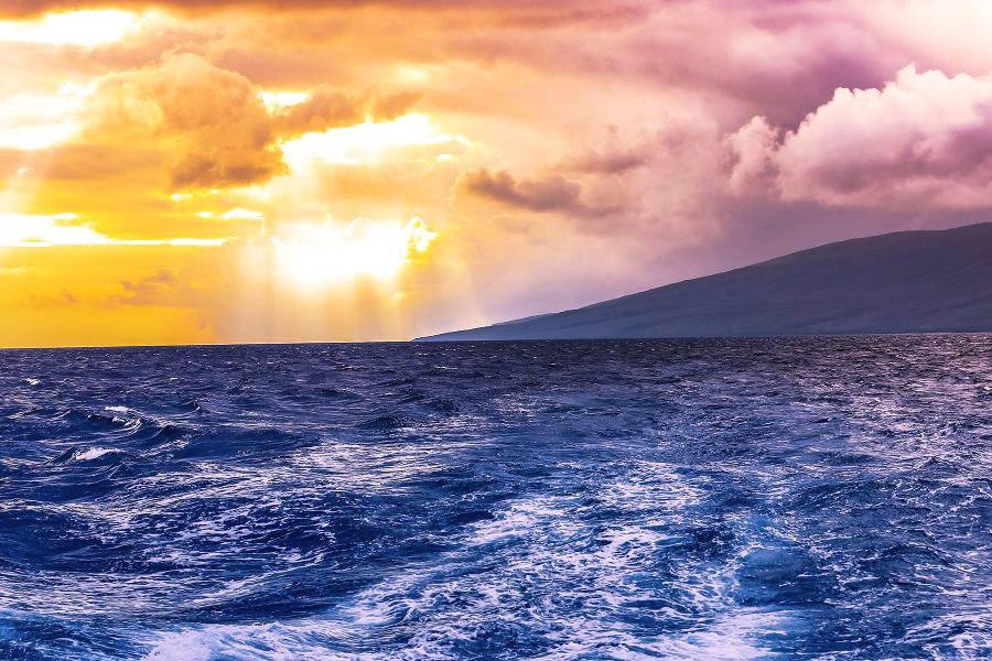 spectacular kaanapali sunset view