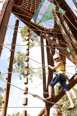 Zipline Piiholo Climbing Tower