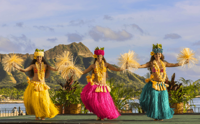 Royal Hawaiian Luau Performers
