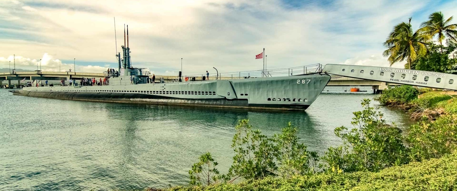 Bowfin Submarine at Pearl Harbor Oahu