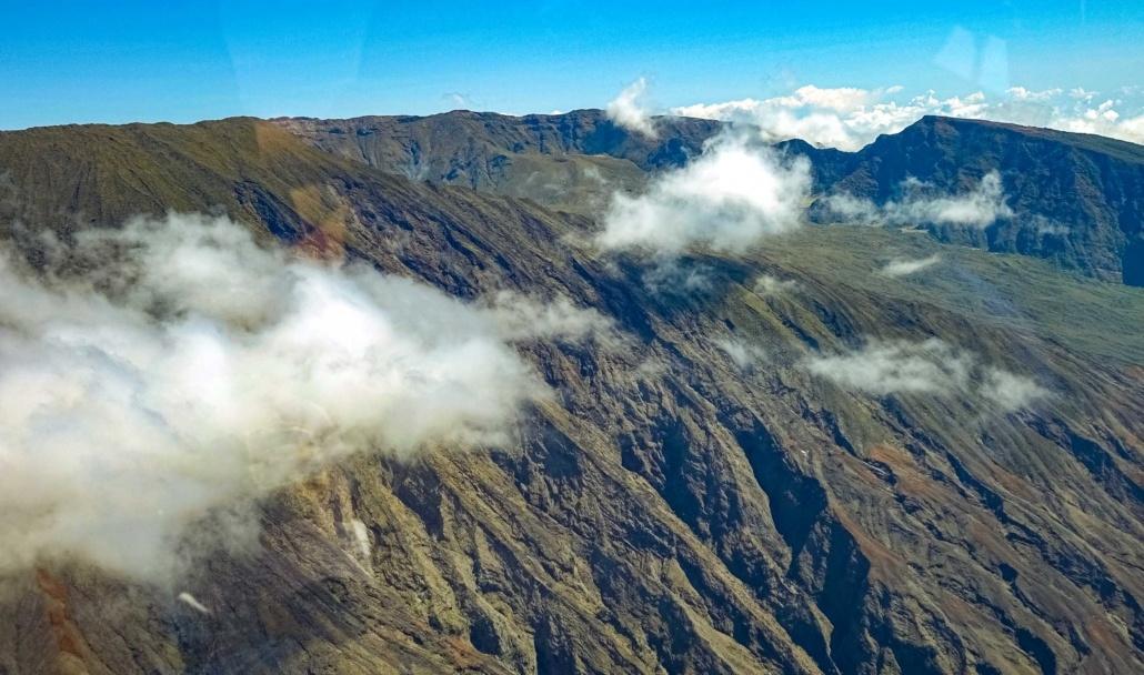 Haleakala Summit Aerial Maui