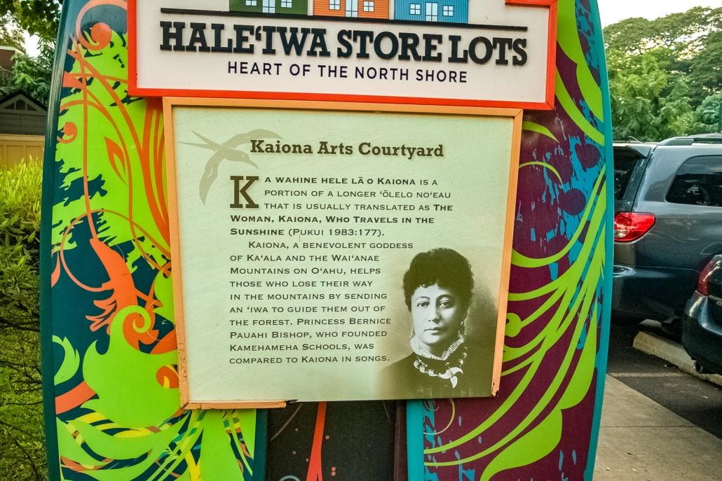 Haleiwa Store Lots Sign North Shore History Oahu