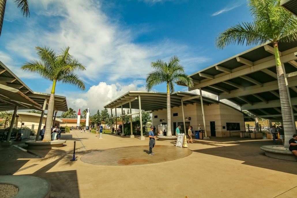 Pearl Harbor Visitor Center Entrance Oahu