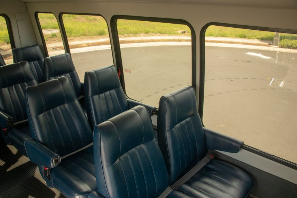 hana tour van seats