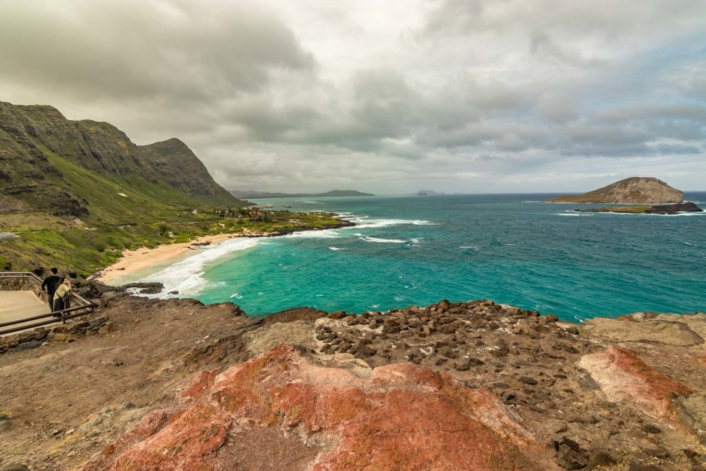 Windward Oahu Overlook Visitors