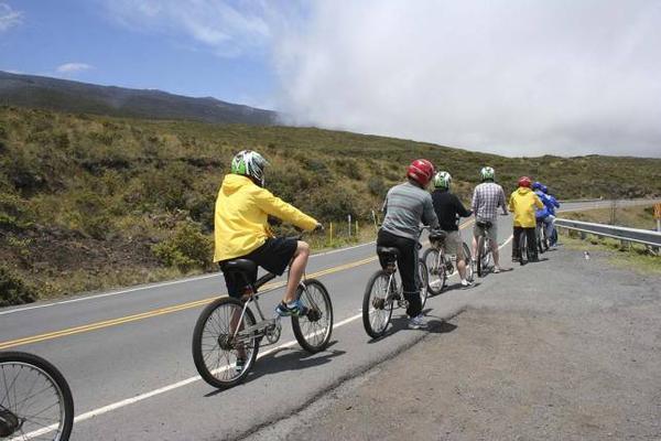 Haleakala Bicycle Downhill