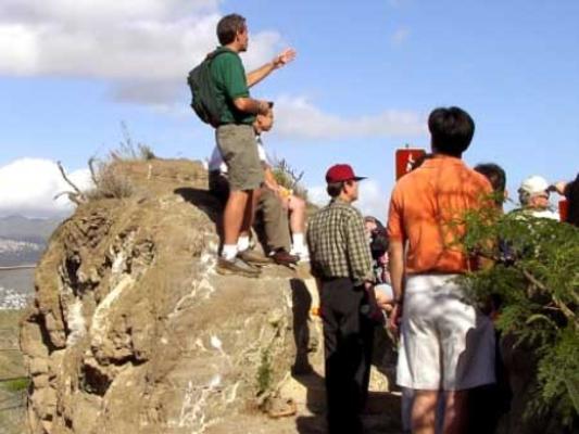 Diamond Head Crater Hiking Group