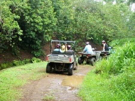 ATV Ride In Kohala