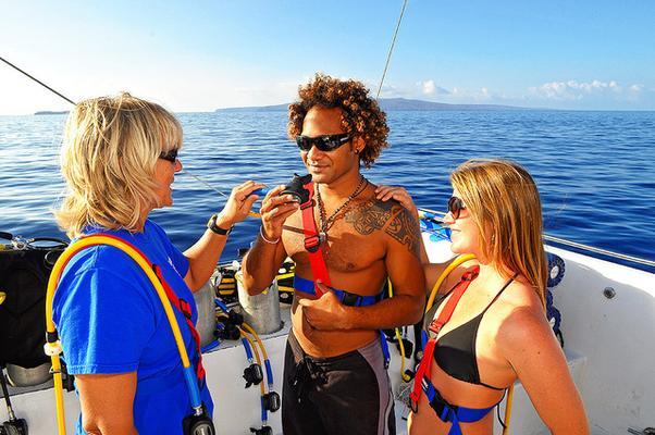 Maui Snorkel Tour Boat Visitors