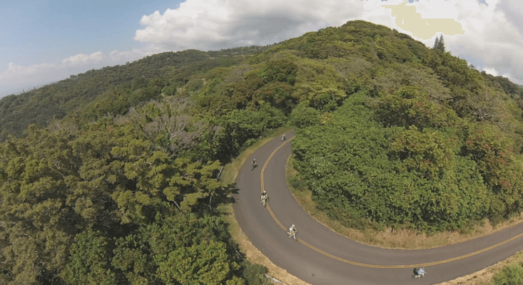 Bike Hawaii Downhill bike Turn
