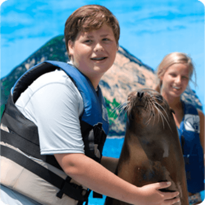 Sea life park Sea Lion Encounter Family
