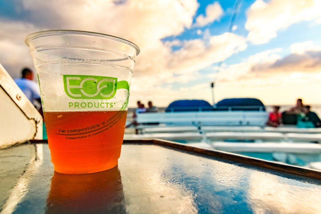 Beer on Boat Eco Cup Maui
