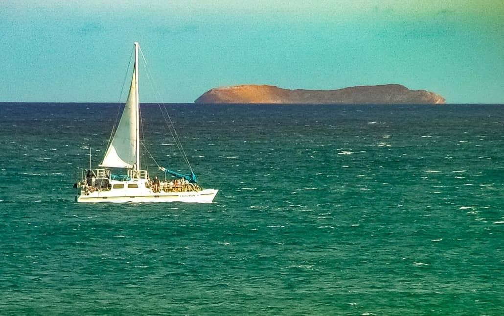 Boat and Molokini Crater Maui