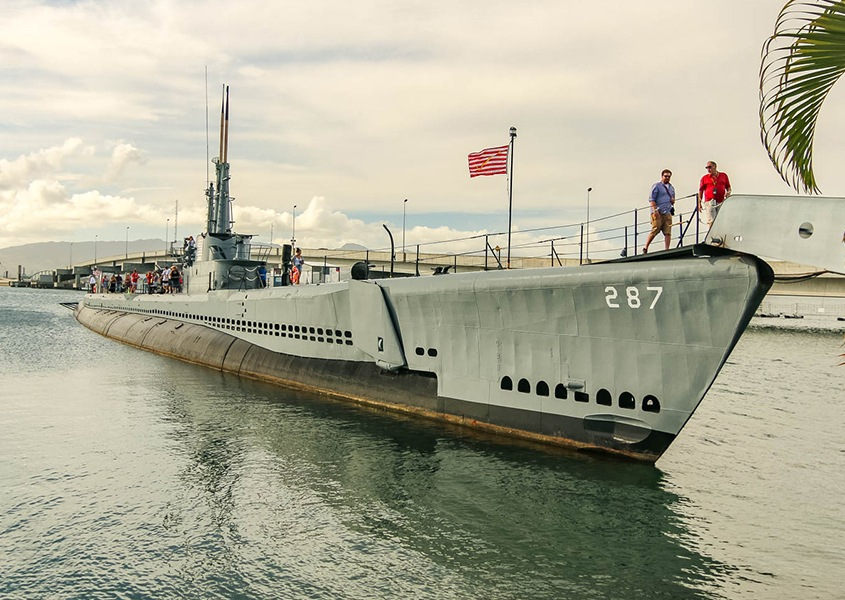 Bowfin Submarine at Pearl Harbor 1200x600