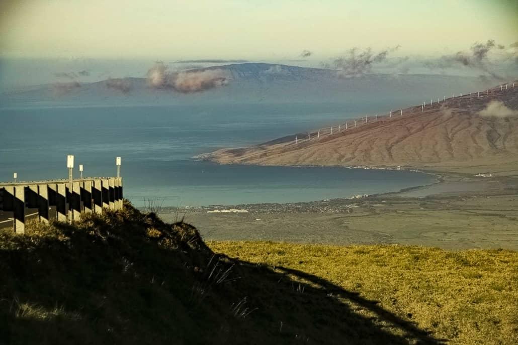 Crater Road Scenic of Maalaea Maui