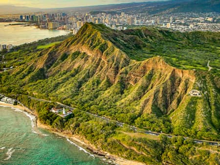 Diamondhead Aerial Honolulu