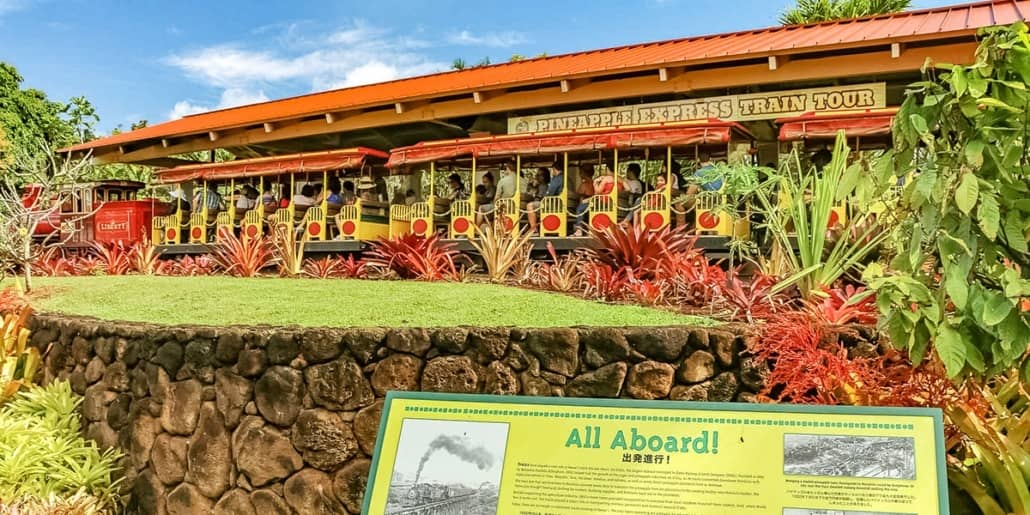 Dole Plantation Pineapple Train