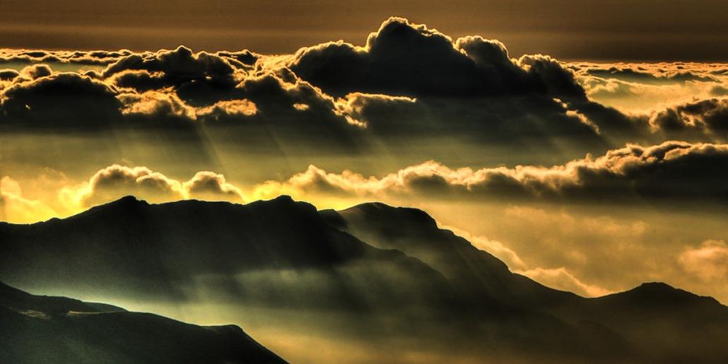Haleakala Crater Clouds