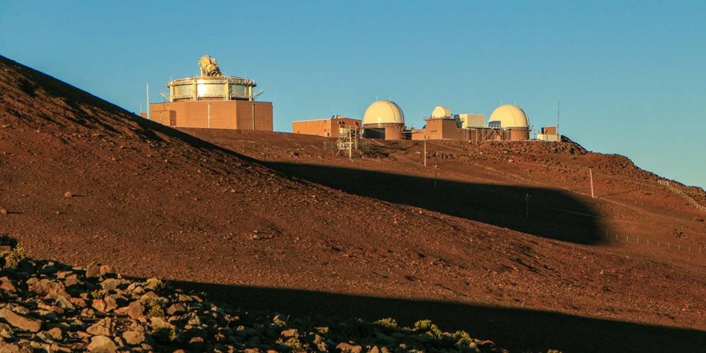 Haleakala Crater Observatory Telescopes