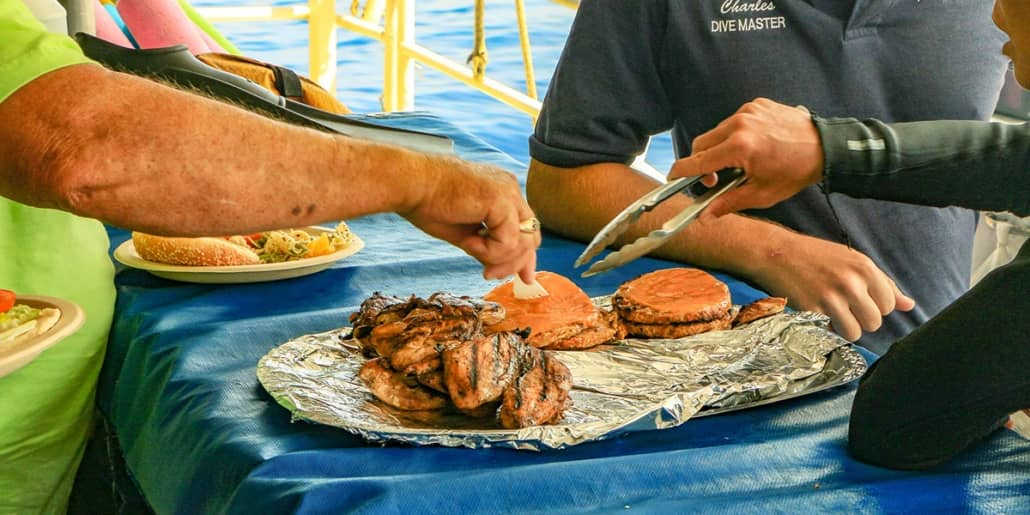 Hawaii Boat Grilled Lunch