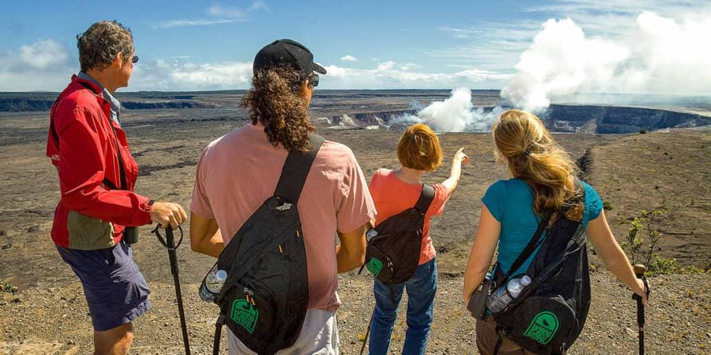 HawaiiForest TrailHalemaumauCraterVolcanoGroupx