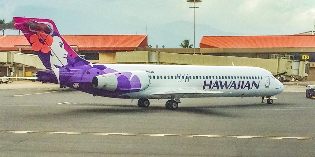 Hawaiian Airlines Plane Airport