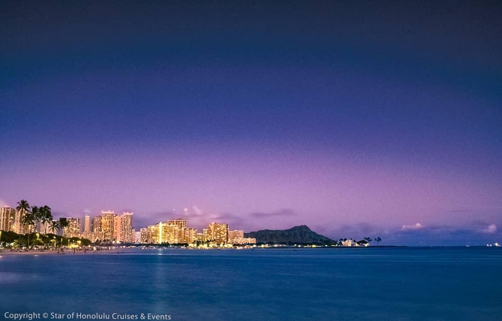 Honolulu and Diamondhead Sunset Paradise Cruises Image