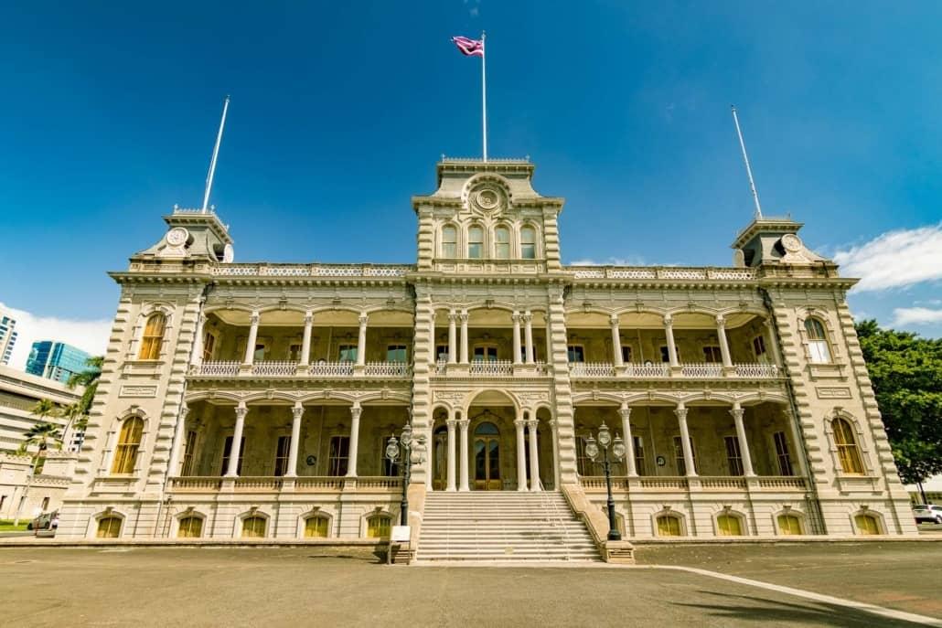 Iolani Palace Honolulu Oahu