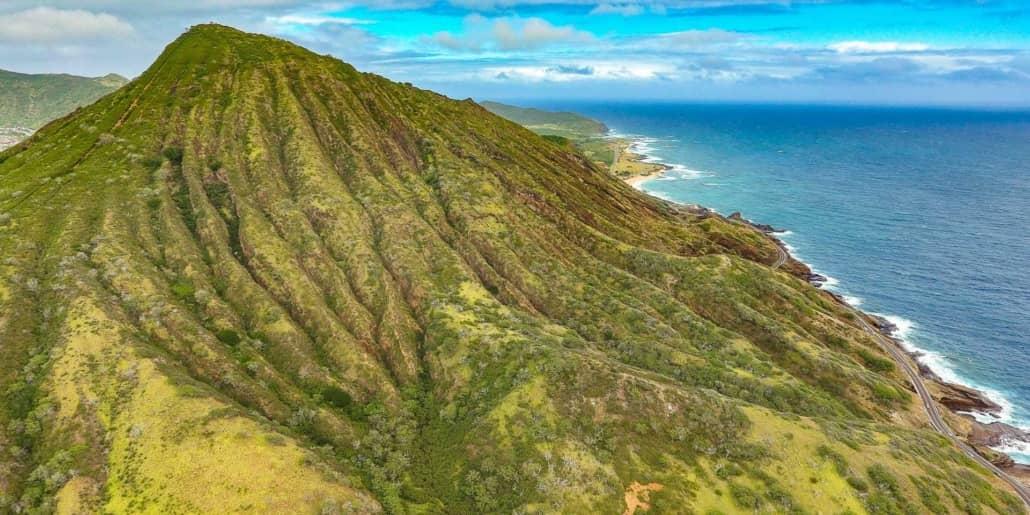 Koko Head and Pali Coast Aerial Oahu
