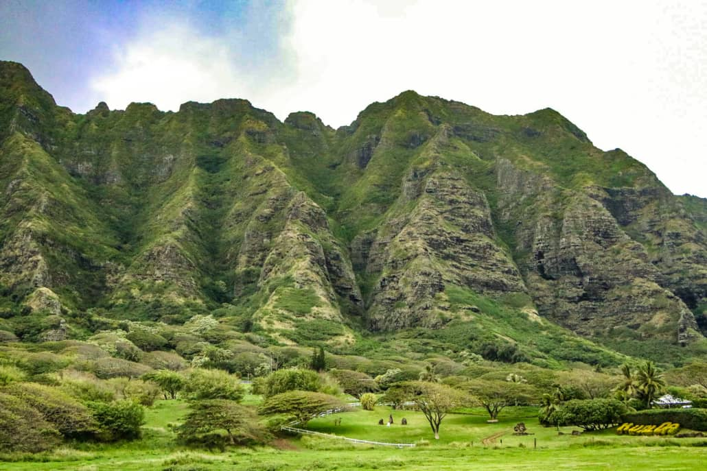 Koolau Mountains North Shore Oahu