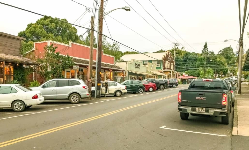 Makawao Town Stores Maui