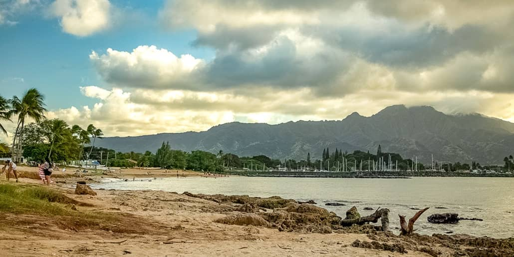 North Shore Ohau Beaches Alii Beach at Haleiwa
