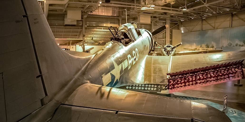Pearl Harbor Aviation Museum Dauntless Aircraft