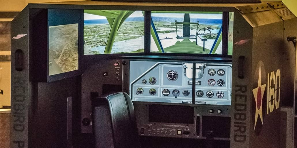 Pearl Harbor Aviation Museum Simulators