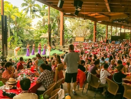 Polynesian Cultural Center Alii Luau Seating and Show