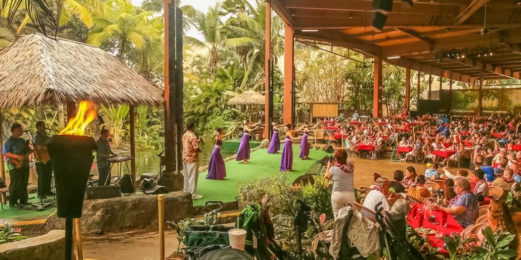 Polynesian Cultural Center Alii Luau Show