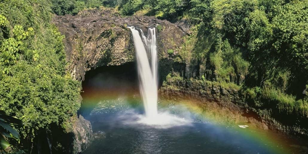 Rainbow Falls Hilo Big Island shutterstock