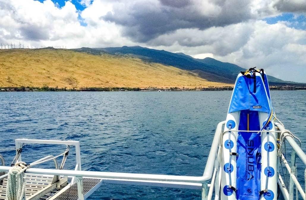 Snorkel Boat Snuba Rafts Near Maalaea Maui