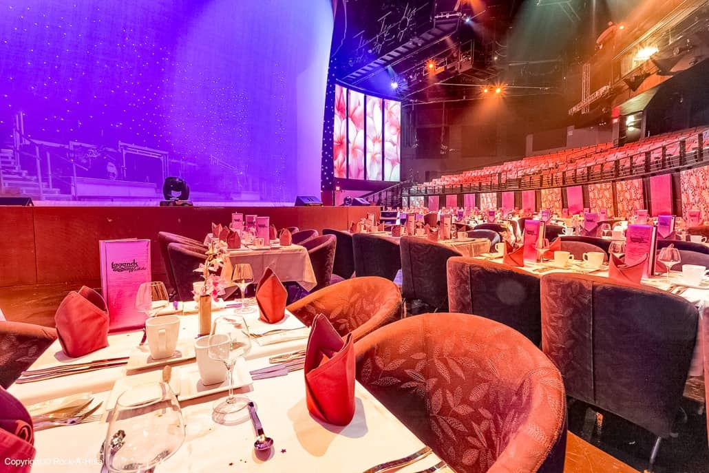 Stage Show Seating Tables Star of Honolulu Boat Paradise Cruises Image